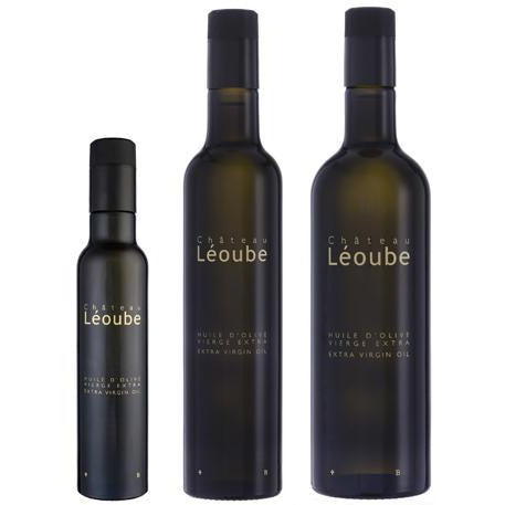 Chateau Leoube Premium Huile D'Olive Vierge Extra Extra Virgin Olive Oil  This extra virgin olive oil is made from a blend of different olive varieties from Provence (Olivette, Aglandau…) and Italy (Pendolino, Moraiolo…) for an added freshness.