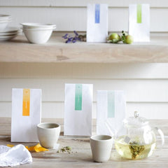 15 BIODEGRADABLE CRYSTAL TEA BAGS, 30G  Pour on freshly drawn boiled water and infuse for 3 – 4 minutes, drink with or without milk.  Store in a cool dark place.