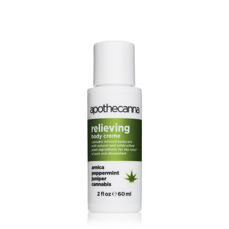 Apothecanna 2 oz Relieving Creme
