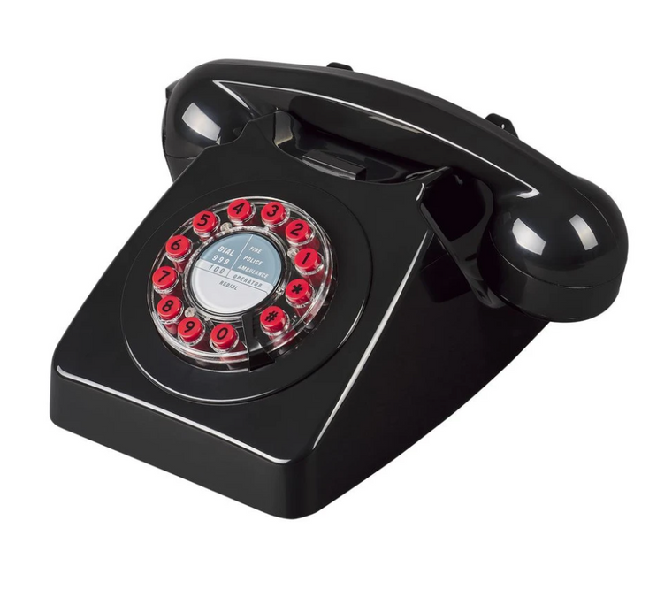 Wild & Wolf 746 Telephone Black
