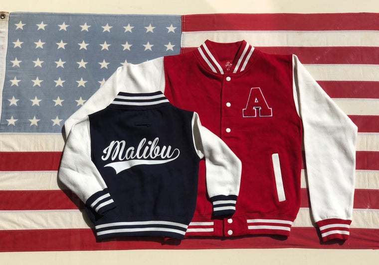 On The Rise Malibu Varsity Jacket