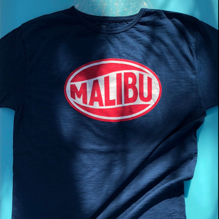 One Gun Vintage Malibu Navy T-Shirt