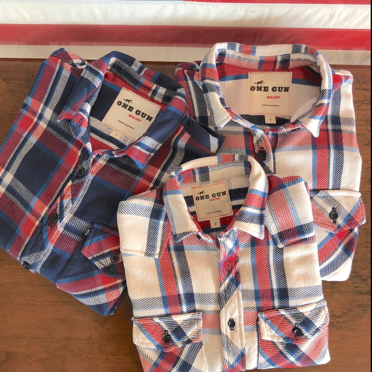 One Gun Ranch Kid's Flannel