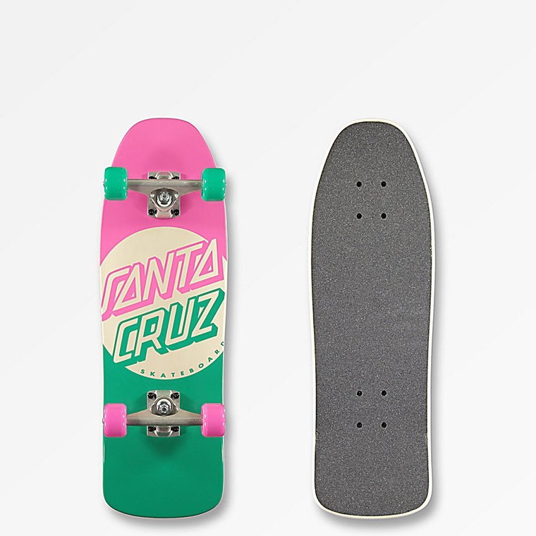 Santa Cruz Switch Dot Mini 80's Cruzer Skateboard