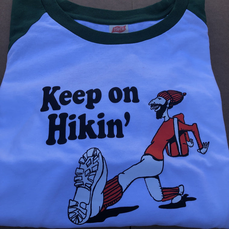 TSPTR Keep On Hikin Raglan T-Shirt