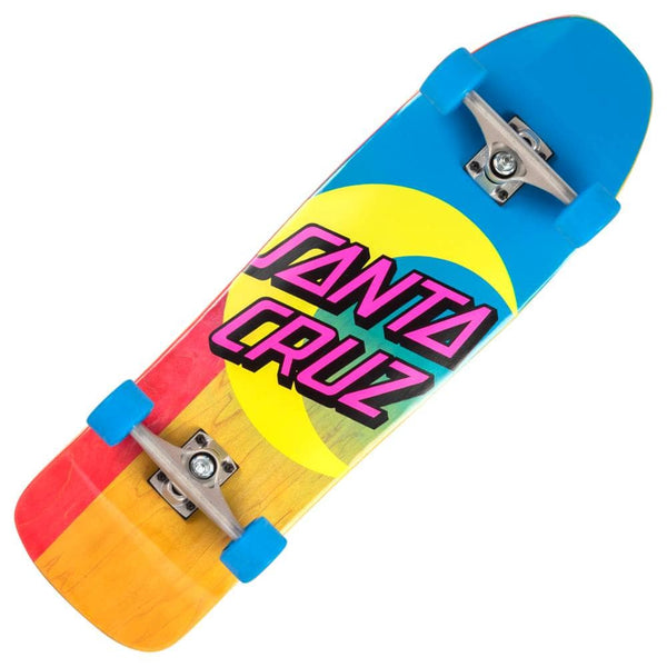 Santa Cruz Moon Dot Cruiser Skateboard