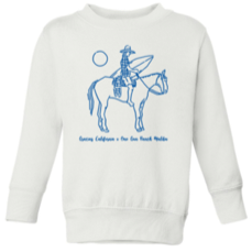GC x One Gun Ranch KIDS White/Navy Sweatshirt