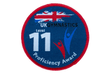 UK Gymnastics Proficiency Level 11 Award