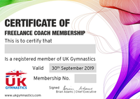 Freelance Coach Membership 2019/2020