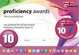 UK Gymnastics Proficiency Level 10 Award