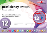 UK Gymnastics Proficiency Level 12 Award
