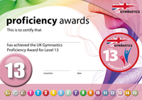 UK Gymnastics Proficiency Level 13 Award