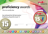 UK Gymnastics Proficiency Level 15 Award