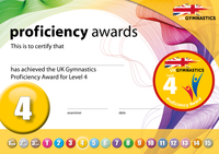 UK Gymnastics Proficiency Level 4 Award