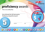 UK Gymnastics Proficiency Level 5 Award