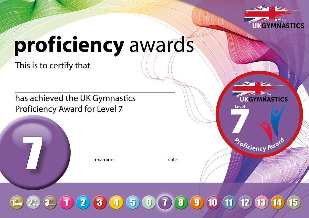 UK Gymnastics Proficiency Level 7 Award