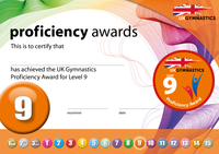 UK Gymnastics Proficiency Level 9 Award