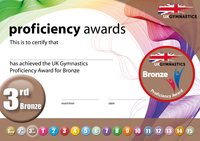 UK Gymnastics Proficiency Bronze Award