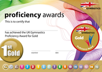UK Gymnastics Proficiency Gold Award