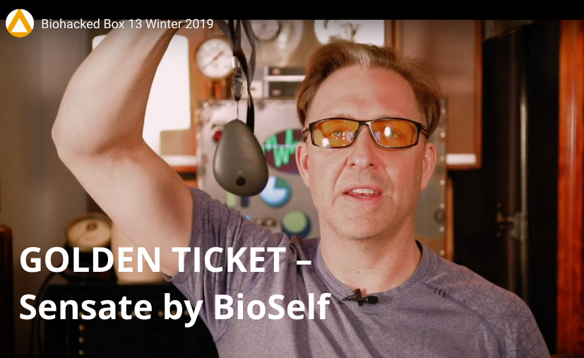 Biohacking with Dave Asprey – a 'Golden Ticket' for Sensate