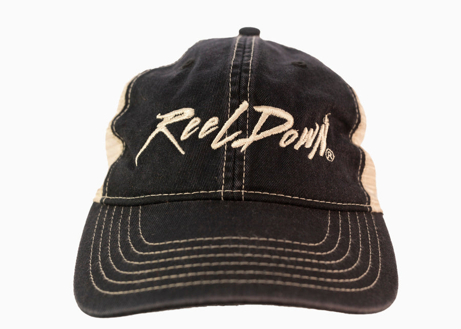 Black Reel Down Slouch Hat