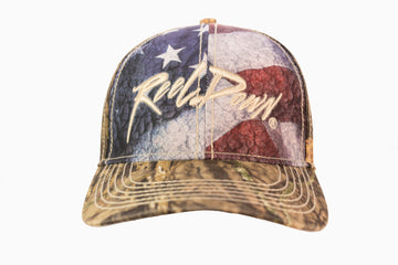 Reel Down American Flag Hat