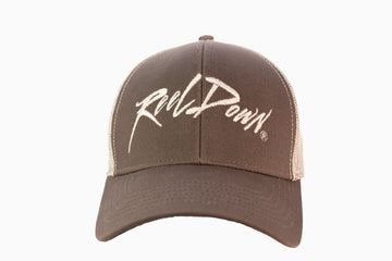 Grey ReelDown Hat