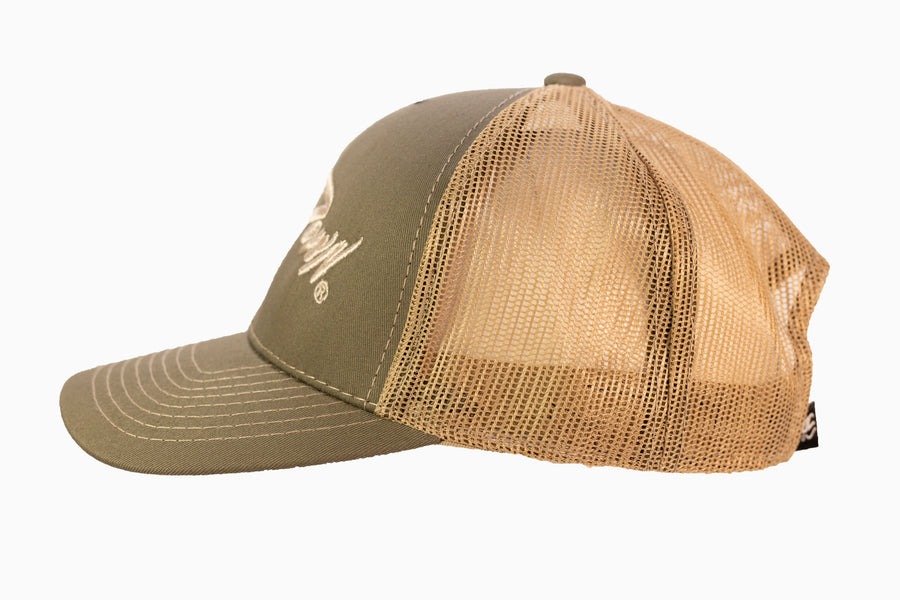 Olive Green ReelDown Hat