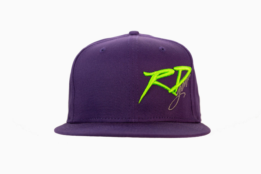 Purple RDGear FlatBill Hat