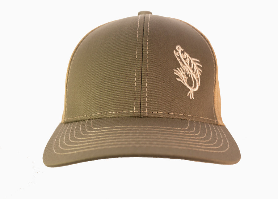 Olive Green Logo Hat