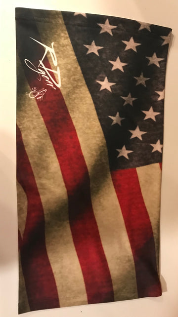 Buff American Flag UV