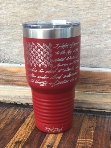 I Pledge 30oz Tumbler