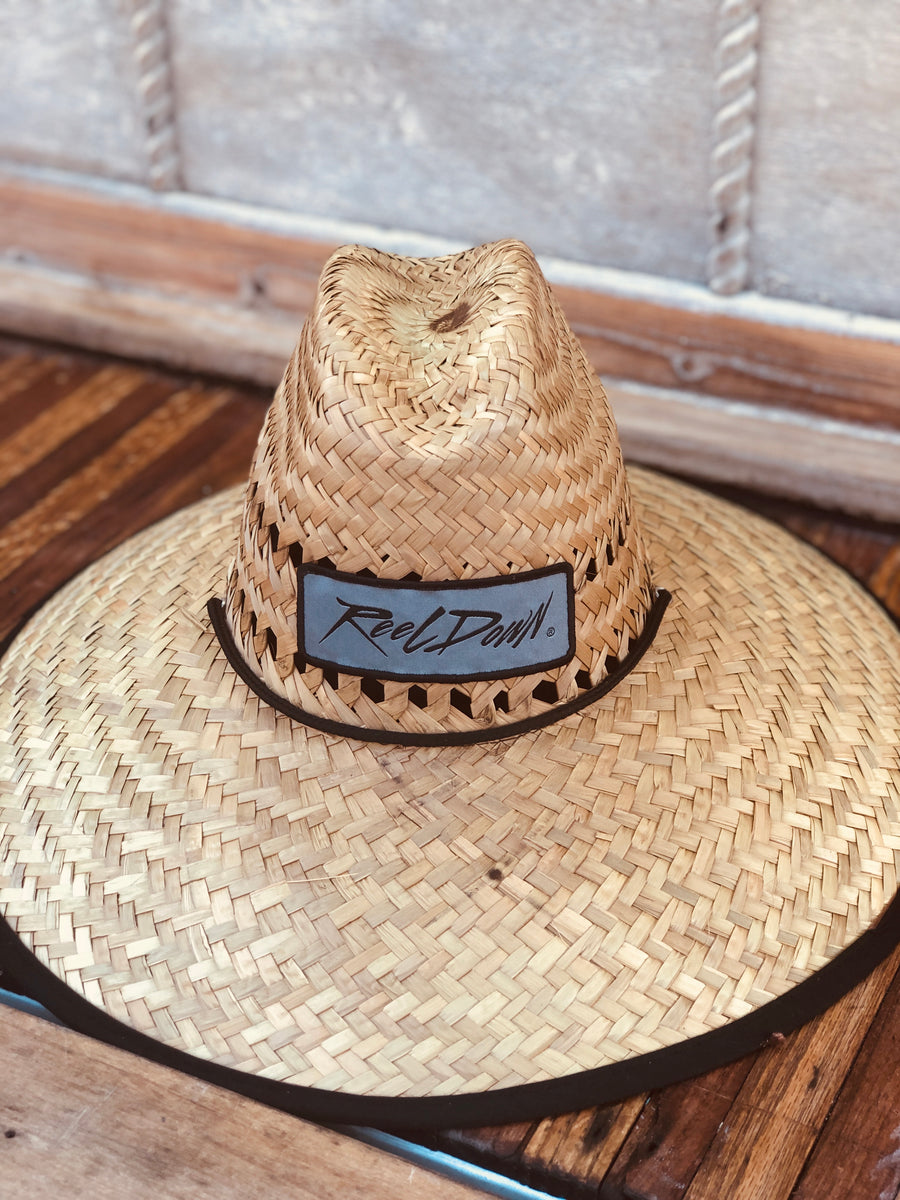 Reel Down Dockside Patch Straw Hats