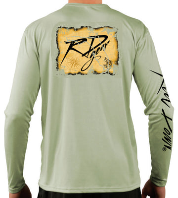 Men's RD Gear Map LS Shirt