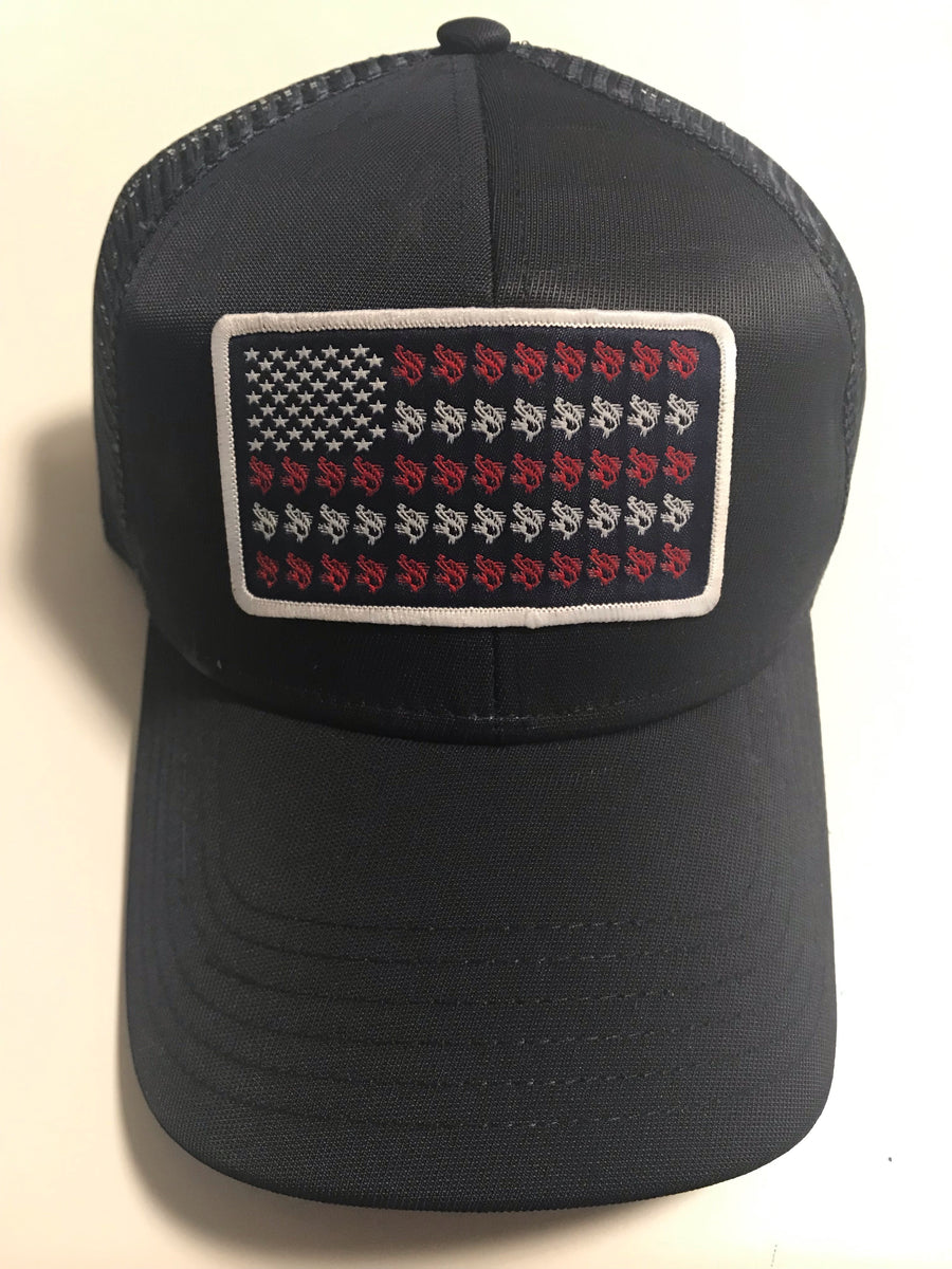 Stars & Stripes Flag Hat