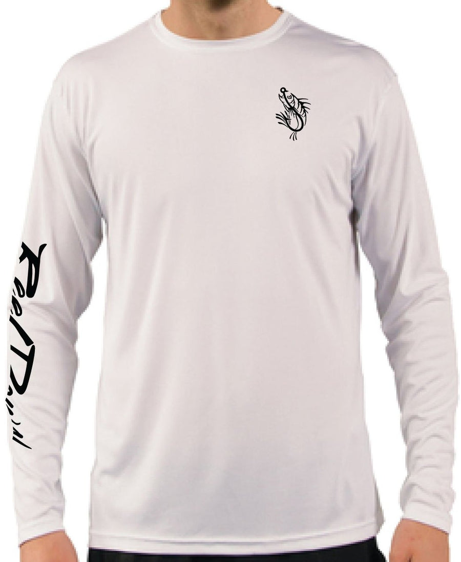 Men's RD White Dive Flag LS
