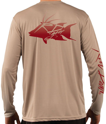 Men's RD Gear Solid Hog Fish LS