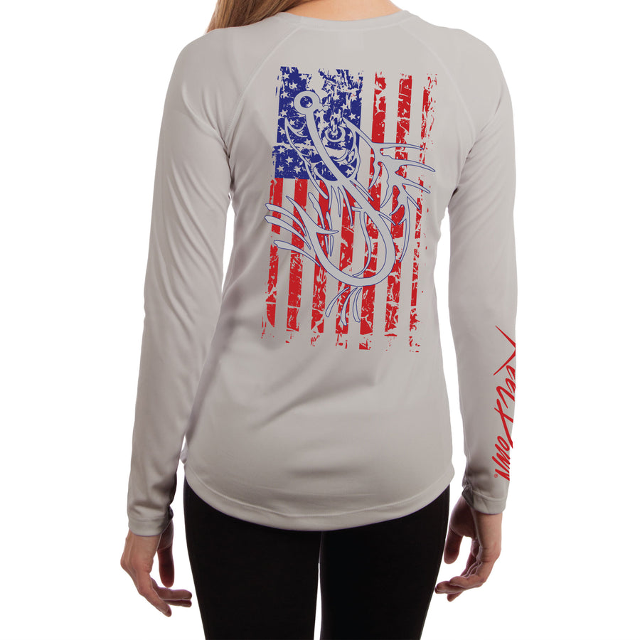 Ladies American Flag Knock-out