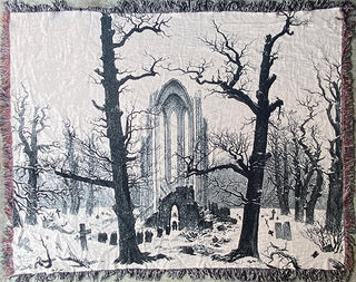 "Caspar David Friedrich Blanket (60"" x 80"")"