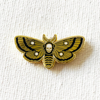 Deaths Head Moth Pin (Really Cool Variant)