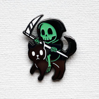 Reaper / Cat Pin (Glowing Variant)