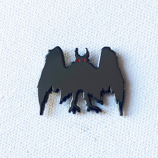 Mothman Pin (Dark Variant)