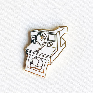 Original Polaroid Pin (Gold Special Variant)