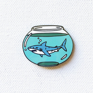 Shark Bowl Pin