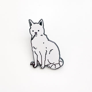 Smoking Cat Pin