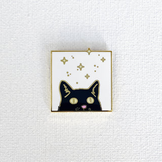 Cat Pin (Starry Variant)