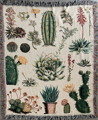 Succulents Blanket