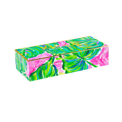 Lilly Pulitzer Large Lacquer Box