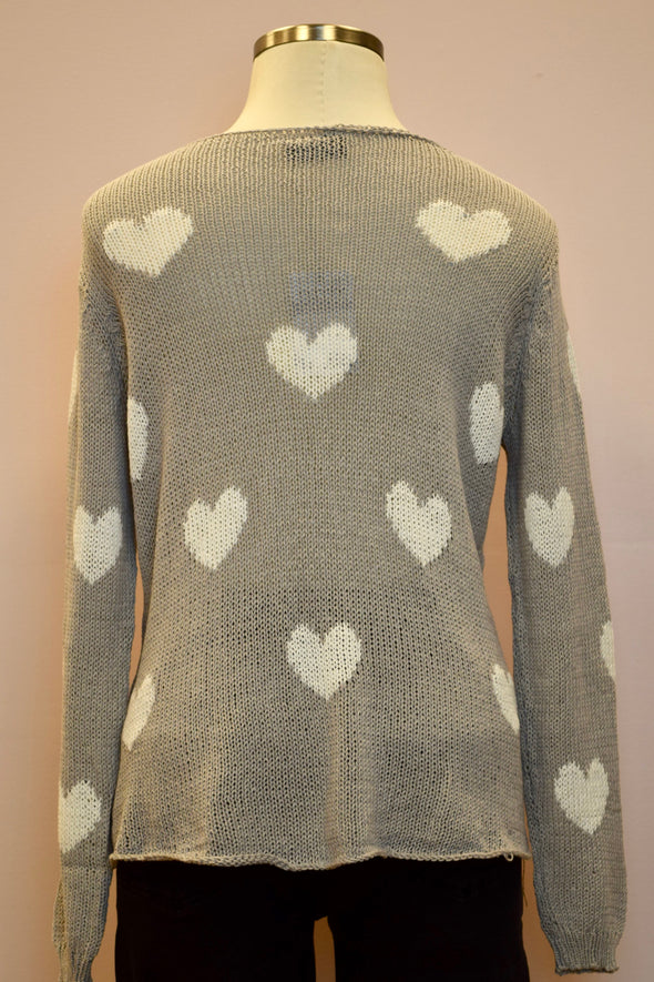 Wooden Ships Besotted V Neck Sweater