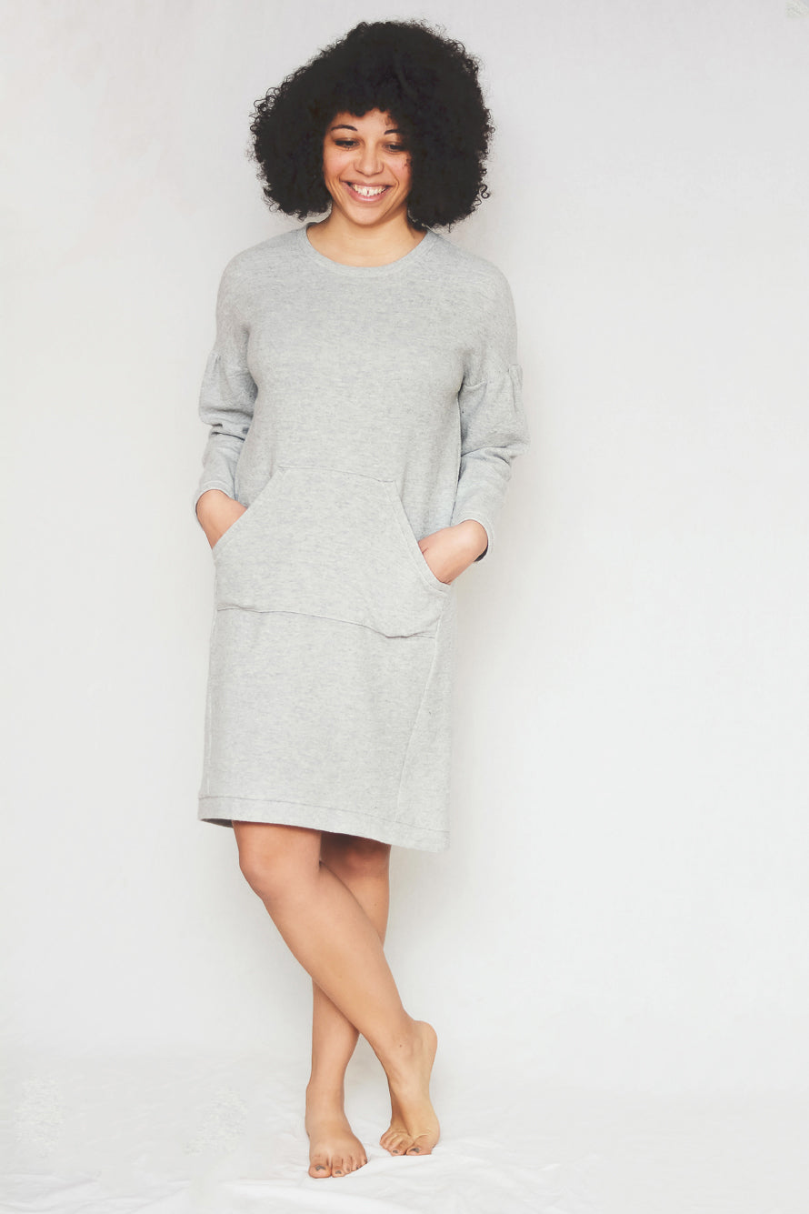 t-shirt dress sewing pattern, pdf pattern, dress with pockets